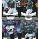 (4) Jacksonville JAGUARS JAGS 2010 Panini Leaf Certified Team Lot NO DUPES