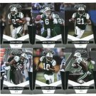 (6) New York NY JETS 2010 Panini Leaf Certified Team Lot NO DUPES