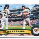 CHASE D'ARNAUD 2011 Topps Update Series #US297 ROOKIE Pittsburgh Pirates