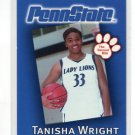 TANISHA WRIGHT 2002-03 Penn State Second Mile WOMENS BASKETBALL