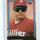 Manager Coach JIM FREGOSI 1992 Topps  GOLD SP #669 Philadelphia Phillies