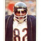 ALAN PAGE 1981 Topps Sticker #192 Bears NOTRE DAME Irish