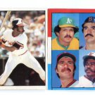 (2) EDDIE MURRAY 1981-82 Topps Sticker Lot ORIOLES