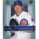 JON LEICESTER 2003 SP Authentic #159 ROOKIE Chicago Cubs #d/2003