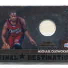MICHAEL OLOWOKANDI 2002-03 Topps Chrome #FD-MO JERSEY L.A. Clippers