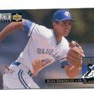 ALEX GONZALEZ 1993 Upper Deck UD Collector's Choice #8 ROOKIE Blue Jays