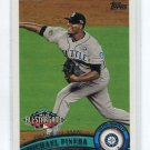 MICHAEL PINEDA 2011 Topps Update Series #US118 ROOKIE Mariners NEW YORK NY Yankees