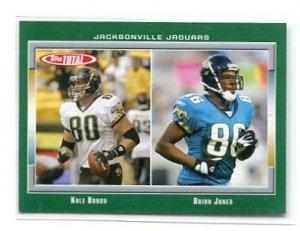 KYLE BRADY / BIAN JONES 2006 Topps Total #390 Penn State Nittany Lions JAGUARS