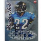 TAVIAN BANKS 1998 Collector's Edge CE Rookie Ink AUTO Autograph IOWA HAWKEYES Jaguars