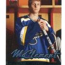 JAY McCLEMENT 2005-06 Fleer Ultra #243 ROOKIE St. Louis Blues