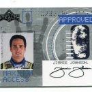 JIMMIE JOHNSON 2007 Press Pass Stealth Maximum Access #MA-13 INSERT NASCAR