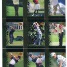 (9) TIGER WOODS 2001 Upper Deck UD Tiger's Tales ROOKIE LOT 4
