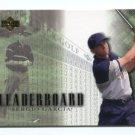 TIGER WOODS 2001 Upper Deck Leaderboard #99 ROOKIE PGA