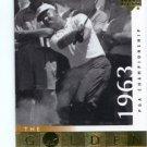 JACK NICKLAUS 2001 Upper Deck UD The Golden Bear 1963 #108
