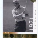 JACK NICKLAUS 2001 Upper Deck UD The Golden Bear 1971 #114