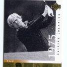 JACK NICKLAUS 2001 Upper Deck UD The Golden Bear 1975 #118