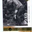 JACK NICKLAUS 2001 Upper Deck UD The Golden Bear 1980 #121