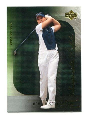 ANNIKA SORENSTAM 2004 Upper Deck Championship Portfolio #33 LPGA