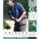 SERGIO GARCIA 2002 Upper Deck UD Chipshots #83 PGA
