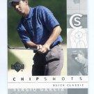 SERGIO GARCIA 2002 Upper Deck UD Chipshots SILVER SP #83 PGA
