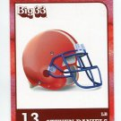 STEVEN DANIELS 2011 Big 33 OH High School card BOSTON COLLEGE Redskins LB