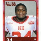 TRAYION DURHAM 2011 Big 33 OH High School card KENT STATE RB