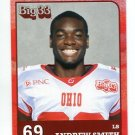 ANDREW SMITH 2011 Big 33 OH High School card NORTHWESTERN Wildcats LB
