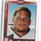 JIMMY BARKER 1997 Big 33 High School card TOLEDO LB / FB