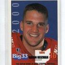 BRIAN HEIZMAN 2000 Big 33 High School card DAYTON LB