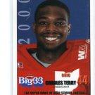 CHARLES TERRY 2000 Big 33 High School card Univ. of OHIO RB