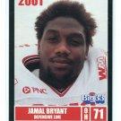 JAMAL BRYANT 2001 Big 33 High School card BOWLING GREEN DL