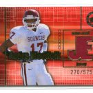 ANDRE WOOLFOLK 2003 Press Pass JE JERSEY Rookie Titans OKLAHOMA Sooners #d/575