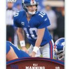ELI MANNING 2011 Topps Rookie Rising #63  New York NY Giants OLE MISS QB