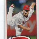 VANCE WORLEY 2012 Topps #307 Philadelphia Phillies
