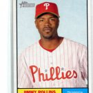 JIMMY ROLLINS 2010 Topps Heritage #103 Philadelphia Phillies