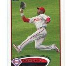 DOMONIC BROWN 2012 Topps #98 Philadelphia Phillies