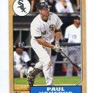 PAUL KONERKO 2012 Topps 1987 Mini INSERT #TM-48 Chicago White Sox