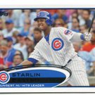 STARLIN CASTRO 2012 Topps #167 Chicago Cubs