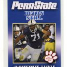 DEVON STILL 2011 Penn State Second Mile College Card NITTANY LIONS Benglas DT