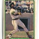 RICKEY HENDERSON 1982 Fleer #643 Oakland A's