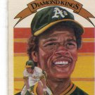 RICKEY HENDERSON 1982 Donruss Diamond Kings #11 Oakland A's