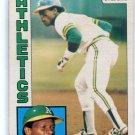 RICKEY HENDERSON 1984 O-Pee-Chee #230 Oakland A's
