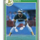 RICKEY HENDERSON 1985 Fleer #425 Oakland A's