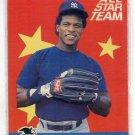 RICKEY HENDERSON 1986 Fleer All-Star Team INSERT #7 New York NY Yankees