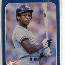 RICKEY HENDERSON 1986 Fleer #108 New York NY Yankees