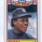 RICKEY HENDERSON 1986 Topps All-Star Glossy #7 New York NY Yankees