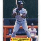 RICKEY HENDERSON 1988 Donruss All-Star Pop Up New York NY Yankees