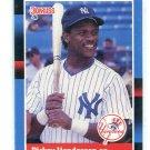 RICKEY HENDERSON 1988 Donruss #277 New York NY Yankees