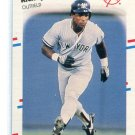 RICKEY HENDERSON 1988 Fleer #209 New York NY Yankees