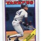 RICKEY HENDERSON 1988 Topps #60 New York NY Yankees